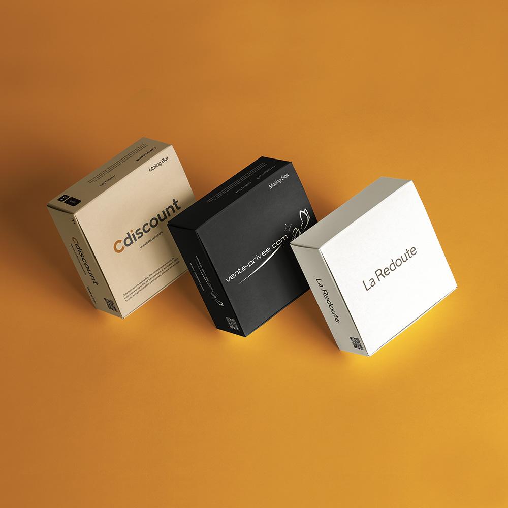 boite envoi carton rigide e-commerce