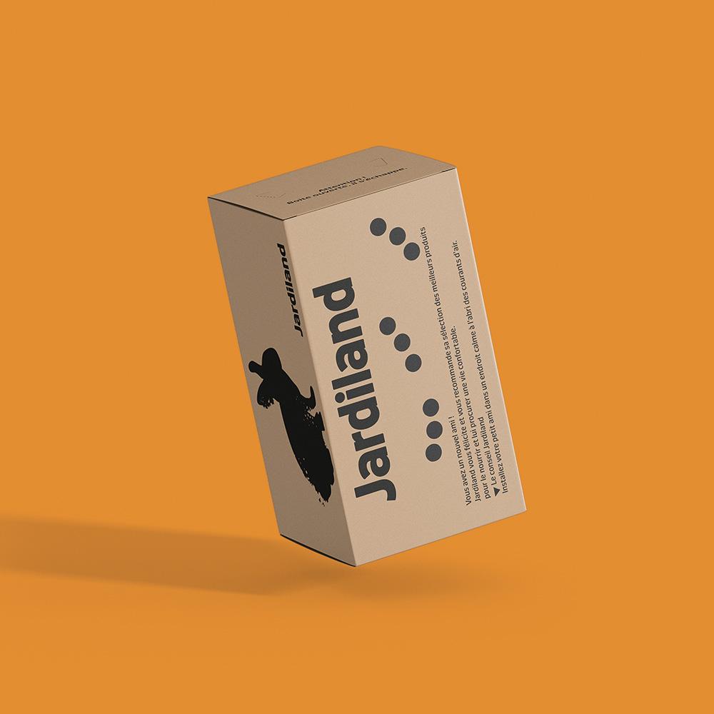 afec boîte carton jardiand ecoresponsable