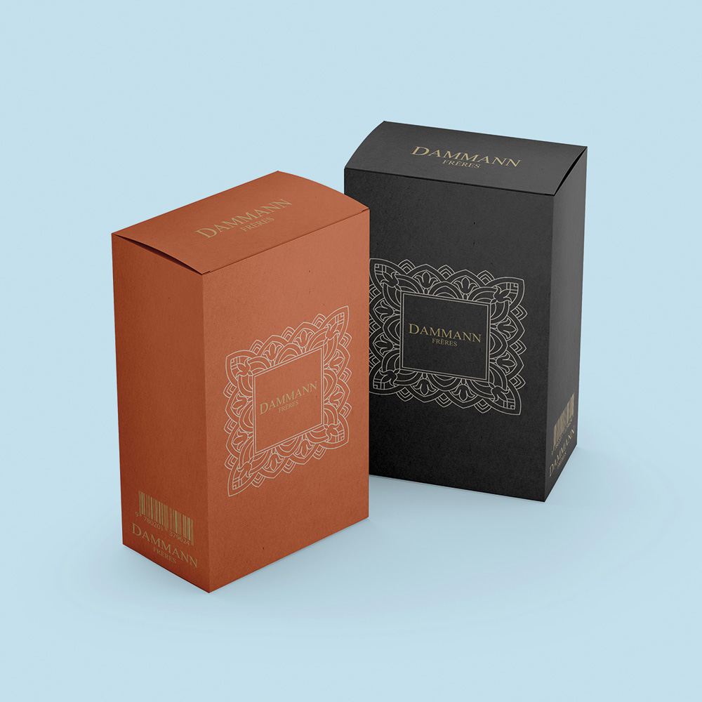 Agence Emballage Fabrication conception boîte kraft dammann