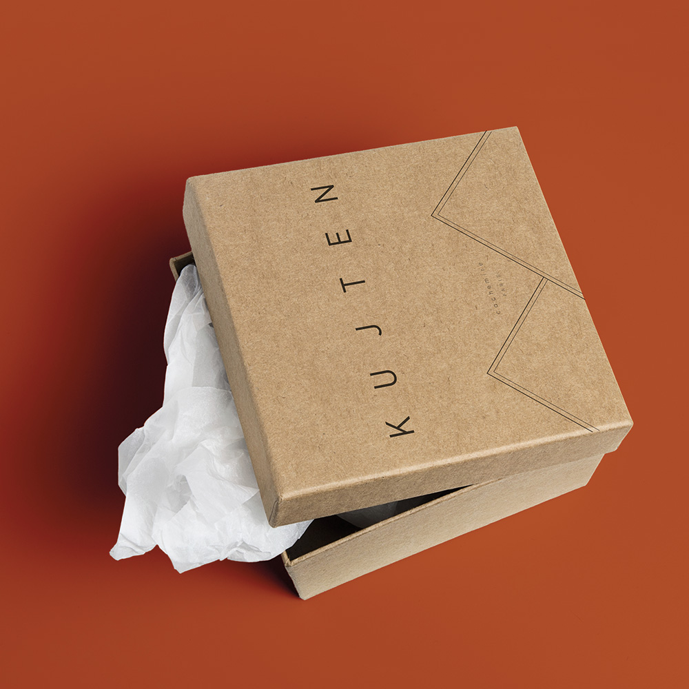 eco conception boîte fabrication manuelle kujten