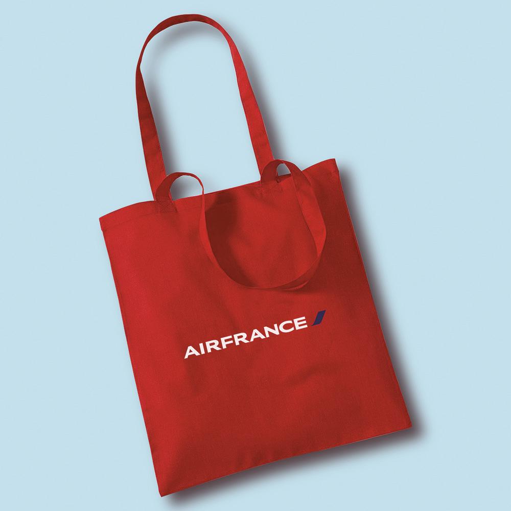 conception sac tissu air france