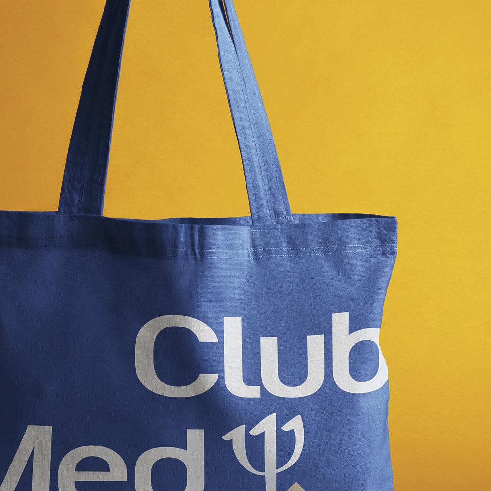 fabrication sac tissu club med personnalisé