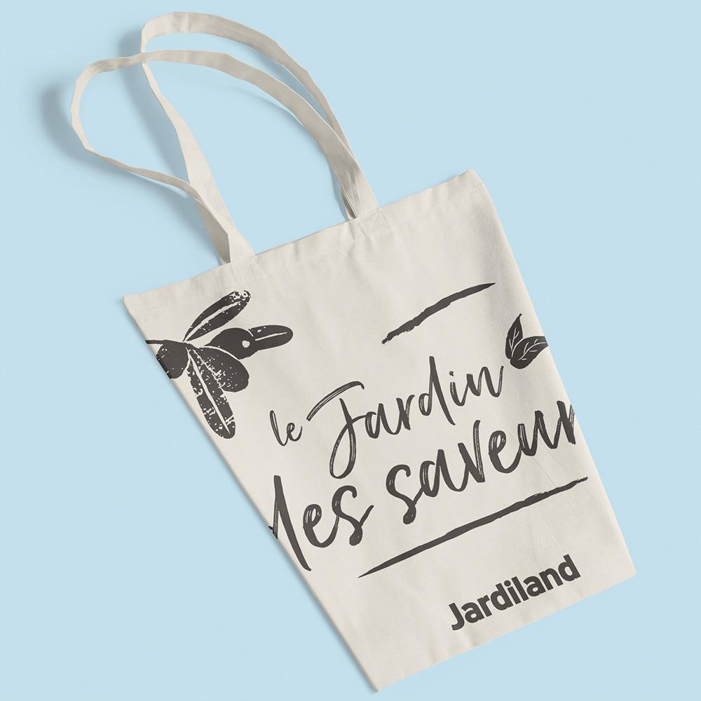 fabrication sac en tissu jardiland ecoresponsable