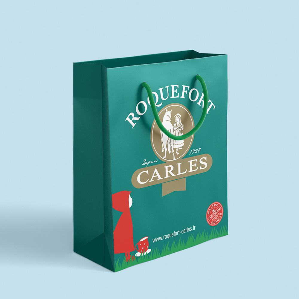 farbication sac papier luxe roquefort carles